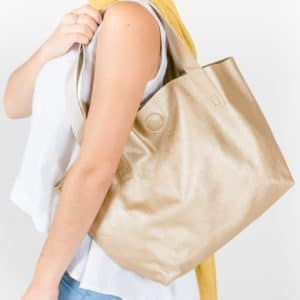 London Bag Frosted Gold