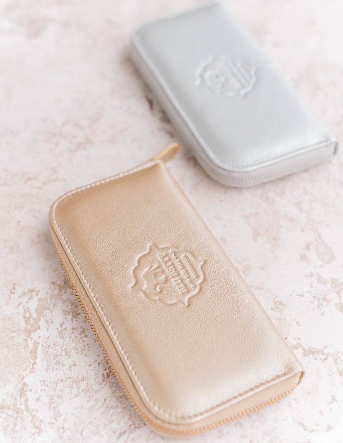 Silver and Gold Wallets